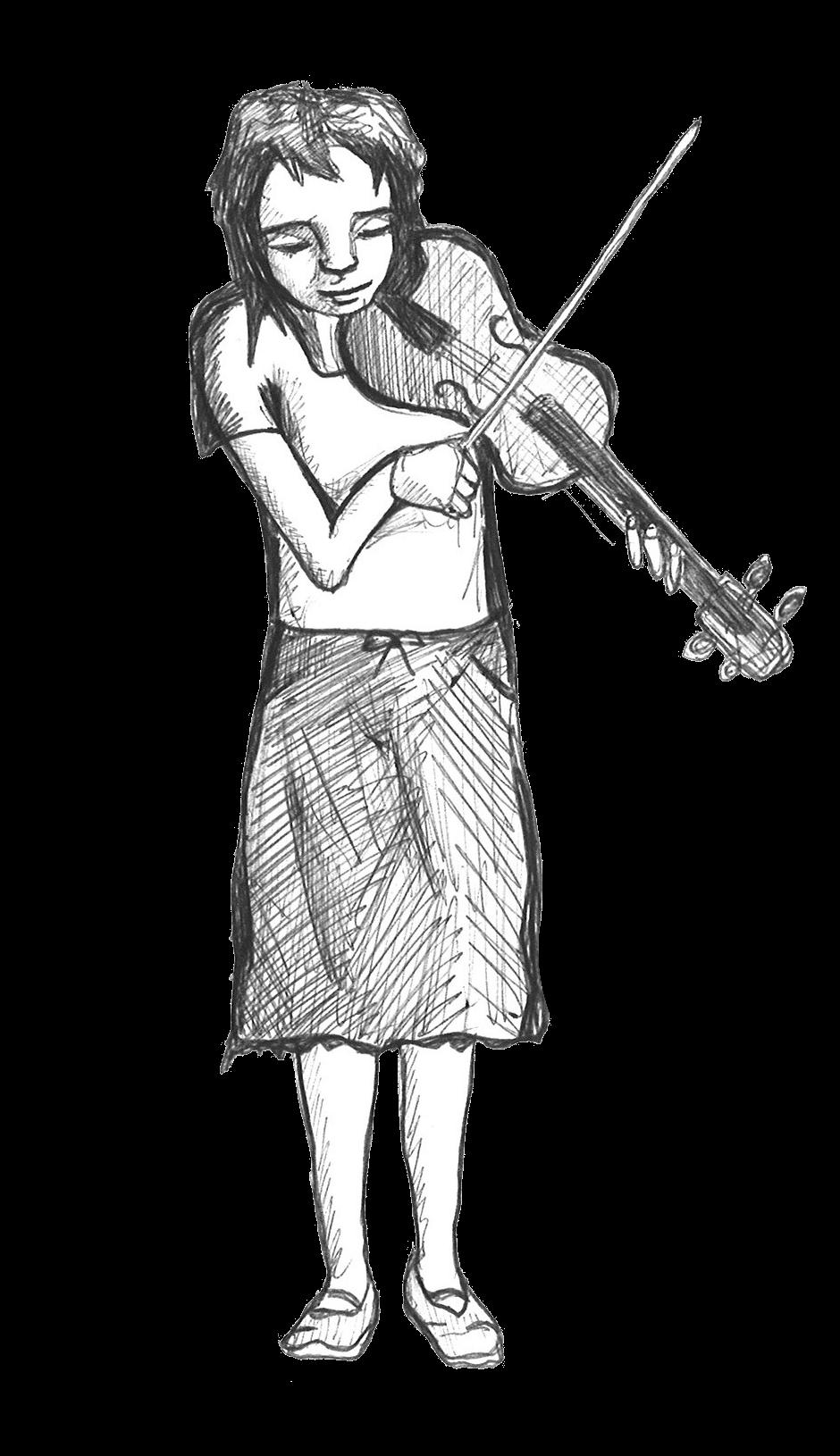 Pamela Margon - Illustration by Kendl Winter